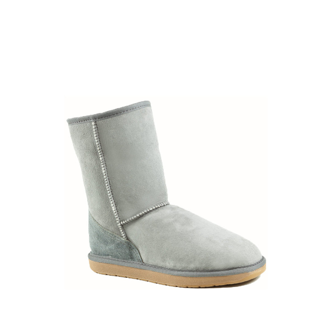 ICON MID ASH MENS- PURE OZ - AUSTRALIA MADE SHEEPSKIN BOOT