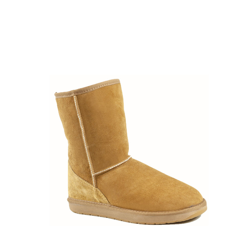 ICON MID CARAMEL MENS - PURE OZ - AUSTRALIA MADE SHEEPSKIN BOOT