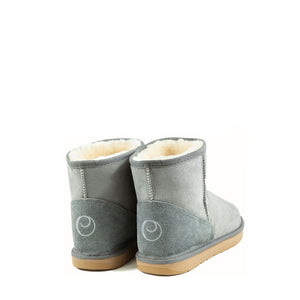 Load image into Gallery viewer, ICON MINI ASH BACK - PURE OZ AUSTRALIAN MADE SHEEPSKIN UGG BOOTS