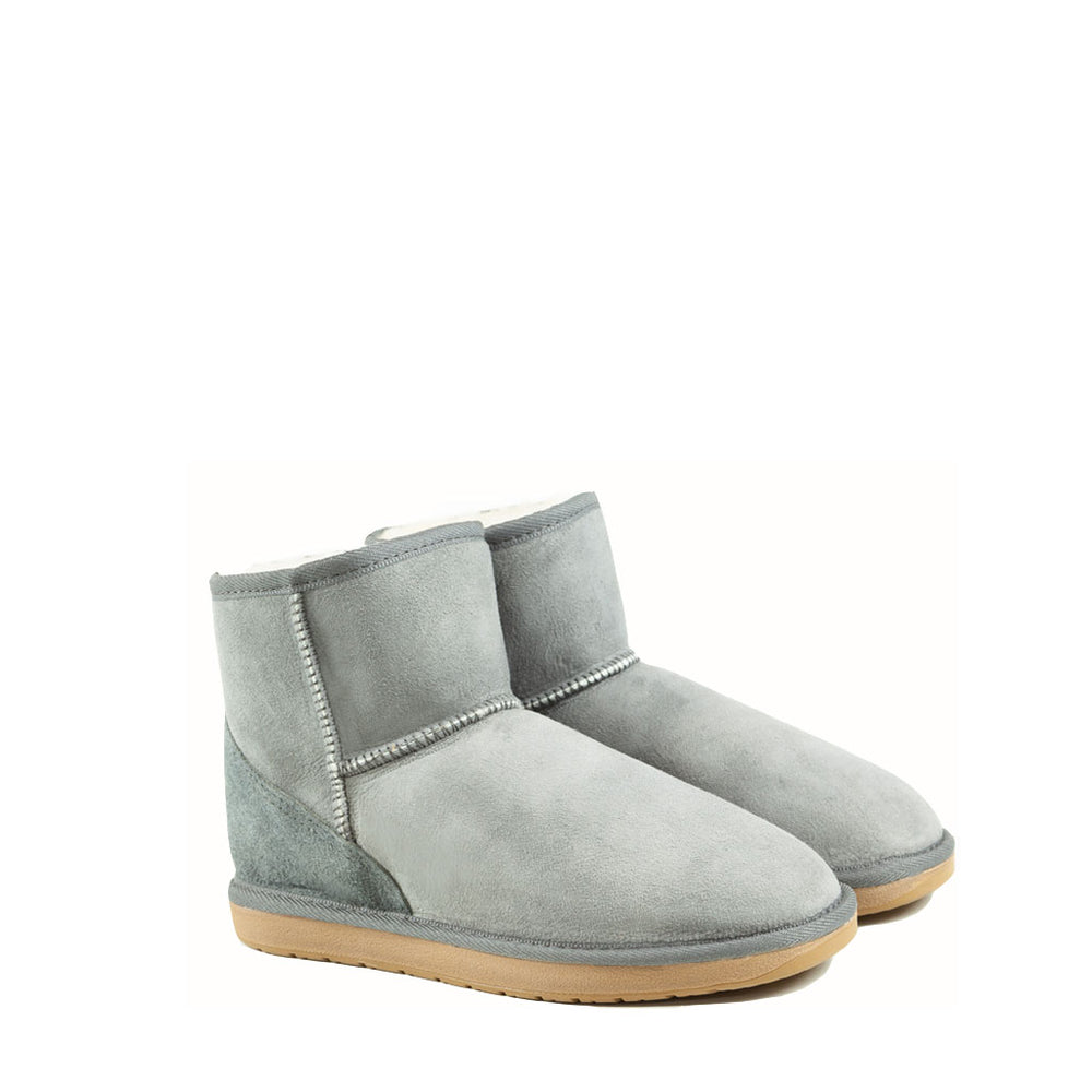 Load image into Gallery viewer, ICON MINI ASH PAIR - PURE OZ AUSTRALIAN MADE SHEEPSKIN UGG BOOTS
