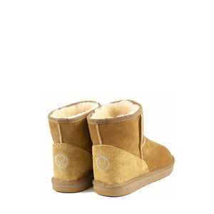 Load image into Gallery viewer, ICON MINI CARAMEL MENS BACK - PURE OZ AUSTRALIAN MADE SHEEPSKIN UGG BOOTS