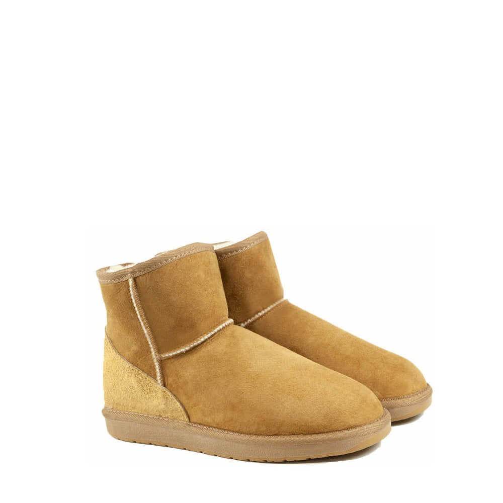 Load image into Gallery viewer, ICON MINI CARAMEL MENS PAIR - PURE OZ AUSTRALIAN MADE SHEEPSKIN UGG BOOTS