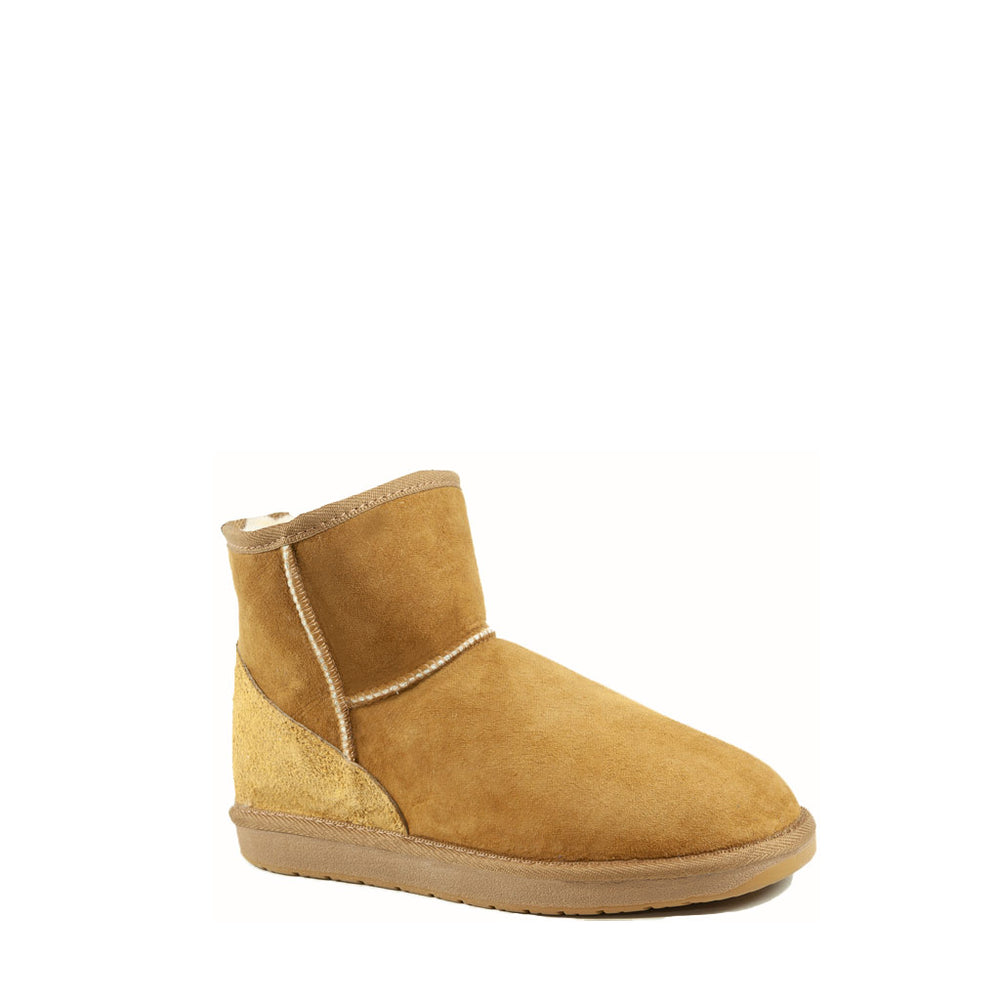 Load image into Gallery viewer, ICON MINI CARAMEL MENS - PURE OZ AUSTRALIAN MADE SHEEPSKIN UGG BOOTS