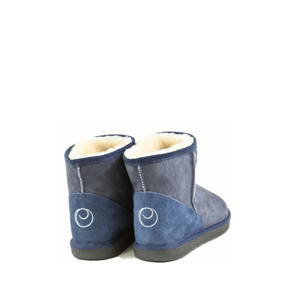 ICON MINI MIDNIGHT BACK - PURE OZ AUSTRALIAN MADE SHEEPSKIN UGG BOOTS