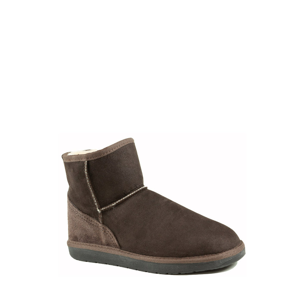 ICON MINI MOCHA MENS - PURE OZ AUSTRALIAN MADE SHEEPSKIN UGG BOOTS