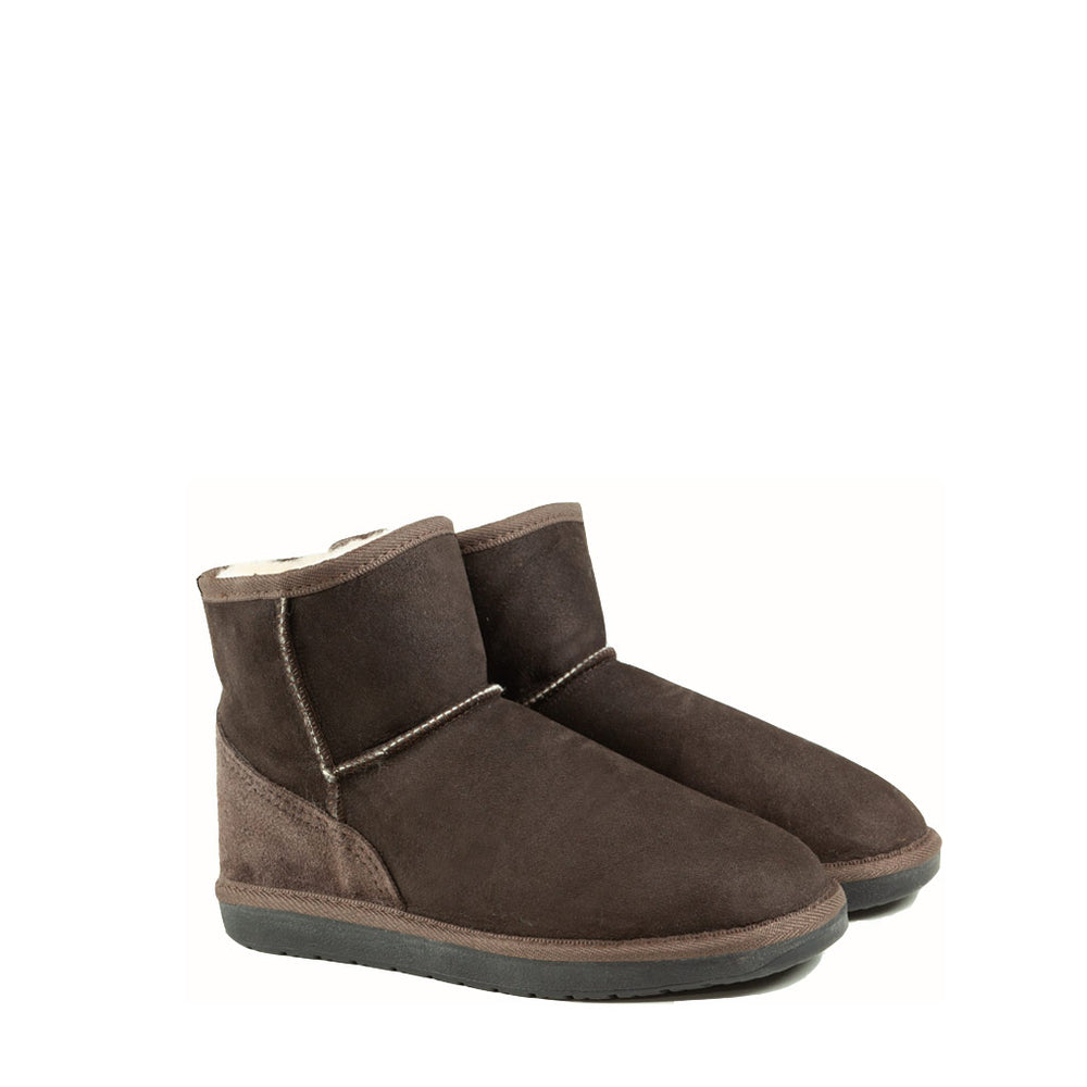 Load image into Gallery viewer, ICON MINI MOCHA PAIR - PURE OZ AUSTRALIAN MADE SHEEPSKIN UGG BOOTS