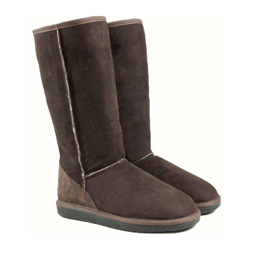 ICON MOCHA PAIR - PURE OZ - AUSTRALIA MADE SHEEPSKIN BOOT