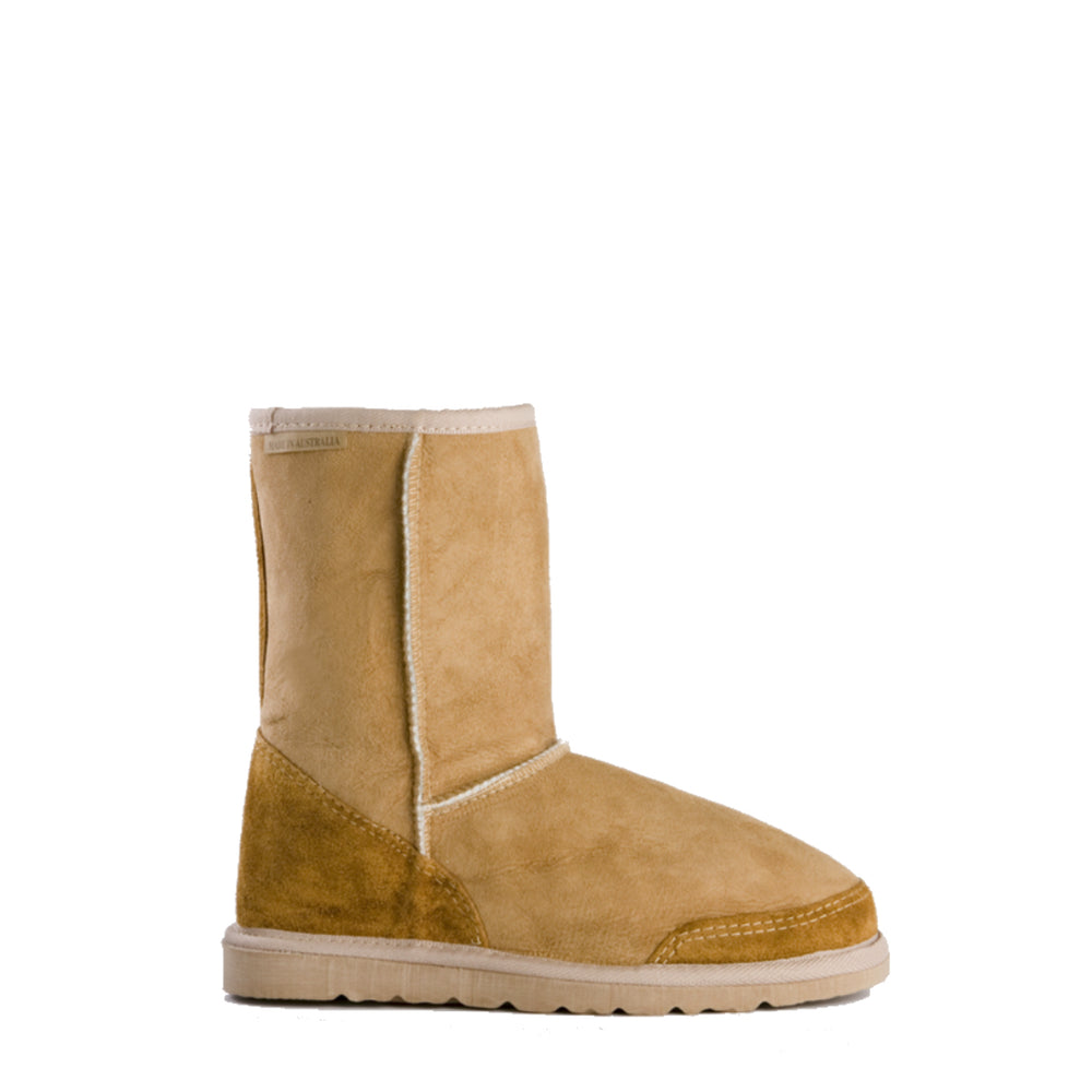 BASE MID CARAMEL - PURE OZ AUSTRALIAN MADE UGG BOOTS