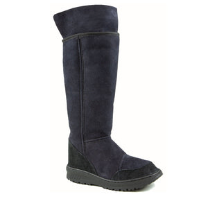VENUS ROLL BLACK UP - PURE OZ - AUSTRALIA MADE SHEEPSKIN BOOT