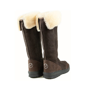 VENUS ROLL MOCHA BACK - PURE OZ - AUSTRALIA MADE SHEEPSKIN BOOT