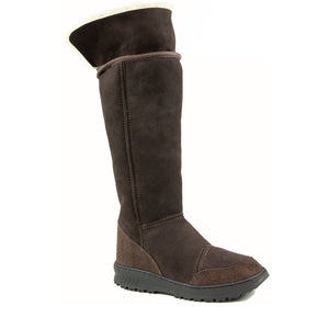 VENUS ROLL MOCHA UP - PURE OZ - AUSTRALIA MADE SHEEPSKIN BOOT