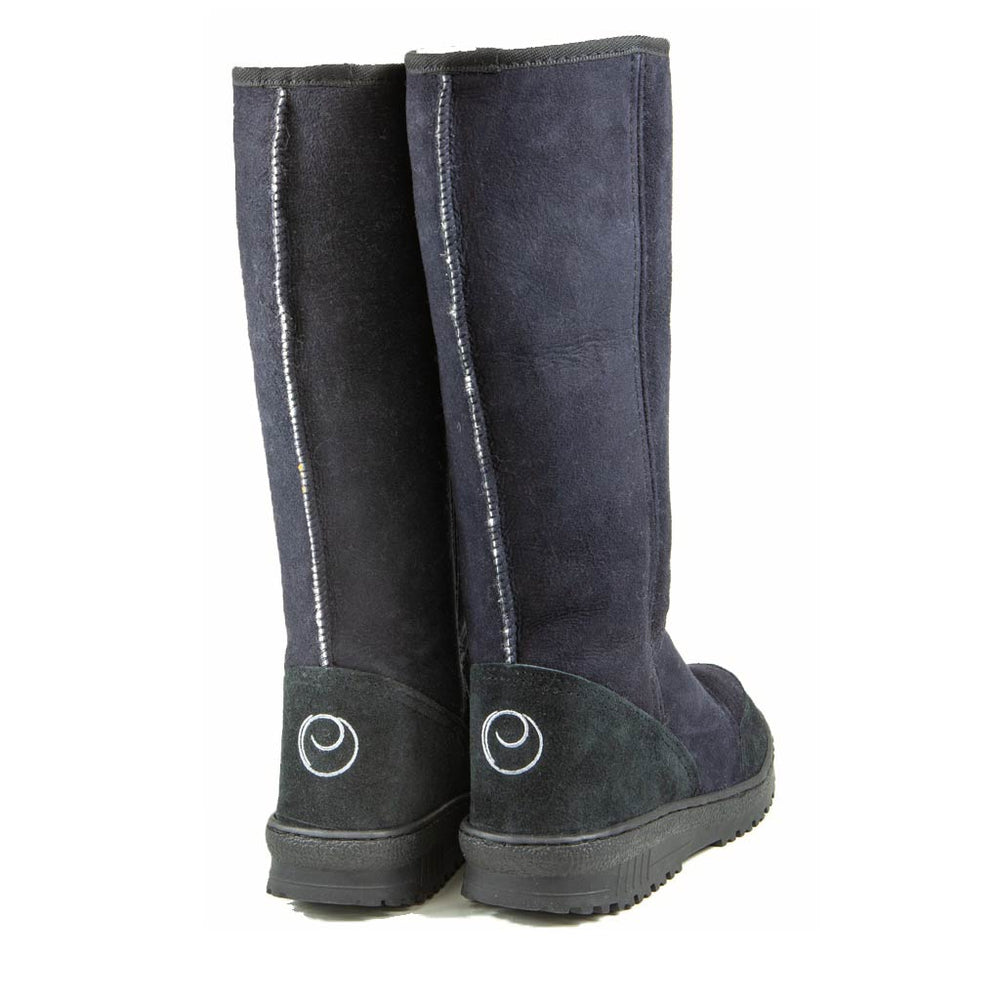 Load image into Gallery viewer, VENUS BLACK BACK - PURE OZ - AUSTRALIA MADE SHEEPSKIN BOOT