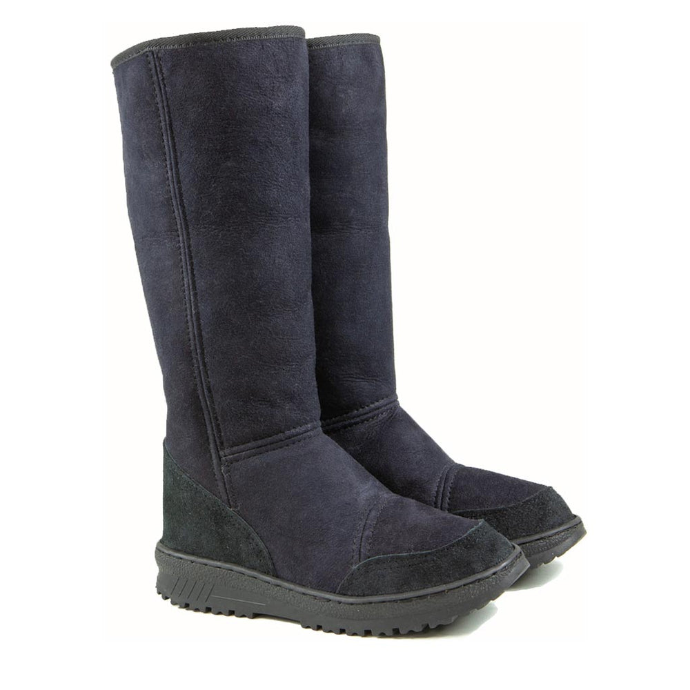 Load image into Gallery viewer, VENUS BLACK PAIR - PURE OZ - AUSTRALIA MADE SHEEPSKIN BOOT