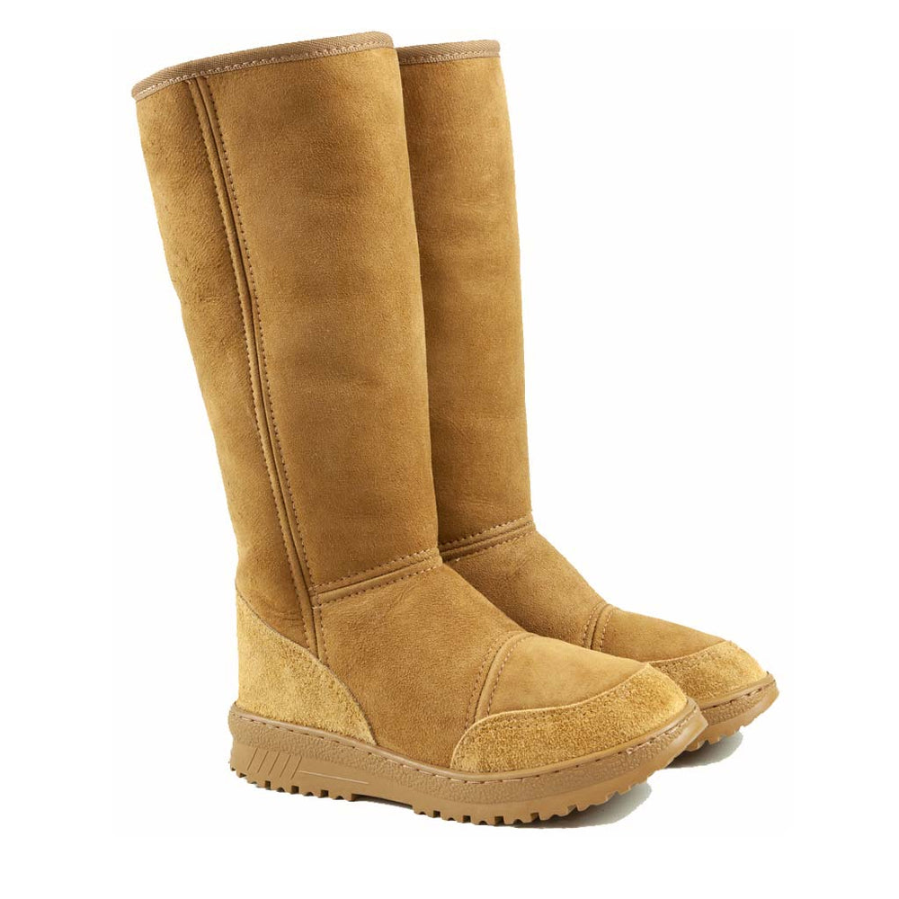 Load image into Gallery viewer, VENUS CARAMEL PAIR - PURE OZ - AUSTRALIA MADE SHEEPSKIN BOOT