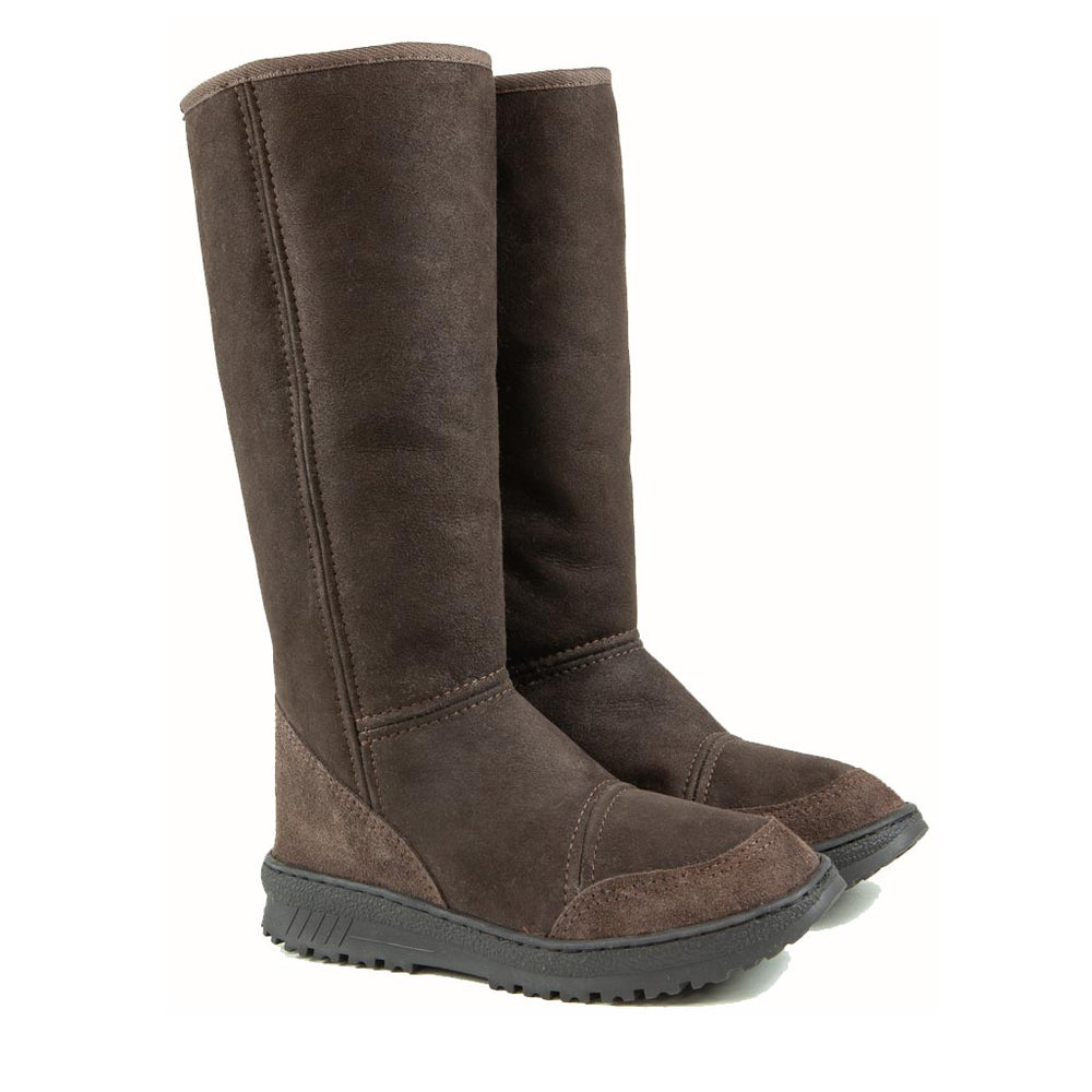 VENUS MOCHA PAIR - PURE OZ - AUSTRALIA MADE SHEEPSKIN BOOT