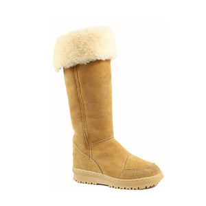 Load image into Gallery viewer, VENUS ROLL CARAMEL - PURE OZ - AUSTRALIA MADE SHEEPSKIN BOOT