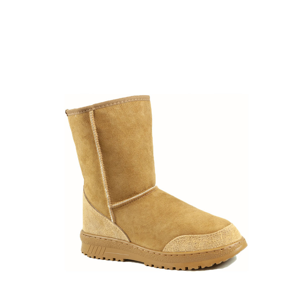 Load image into Gallery viewer, WANDER MID CARAMEL MENS - PURE OZ AUSTRALIAN MADE SHEEPSKIN UGG BOOT