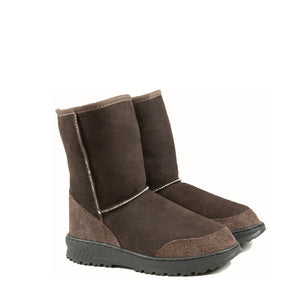 Load image into Gallery viewer, WANDER MID MOCHA PAIR - PURE OZ AUSTRALIAN MADE SHEEPSKIN UGG BOOT