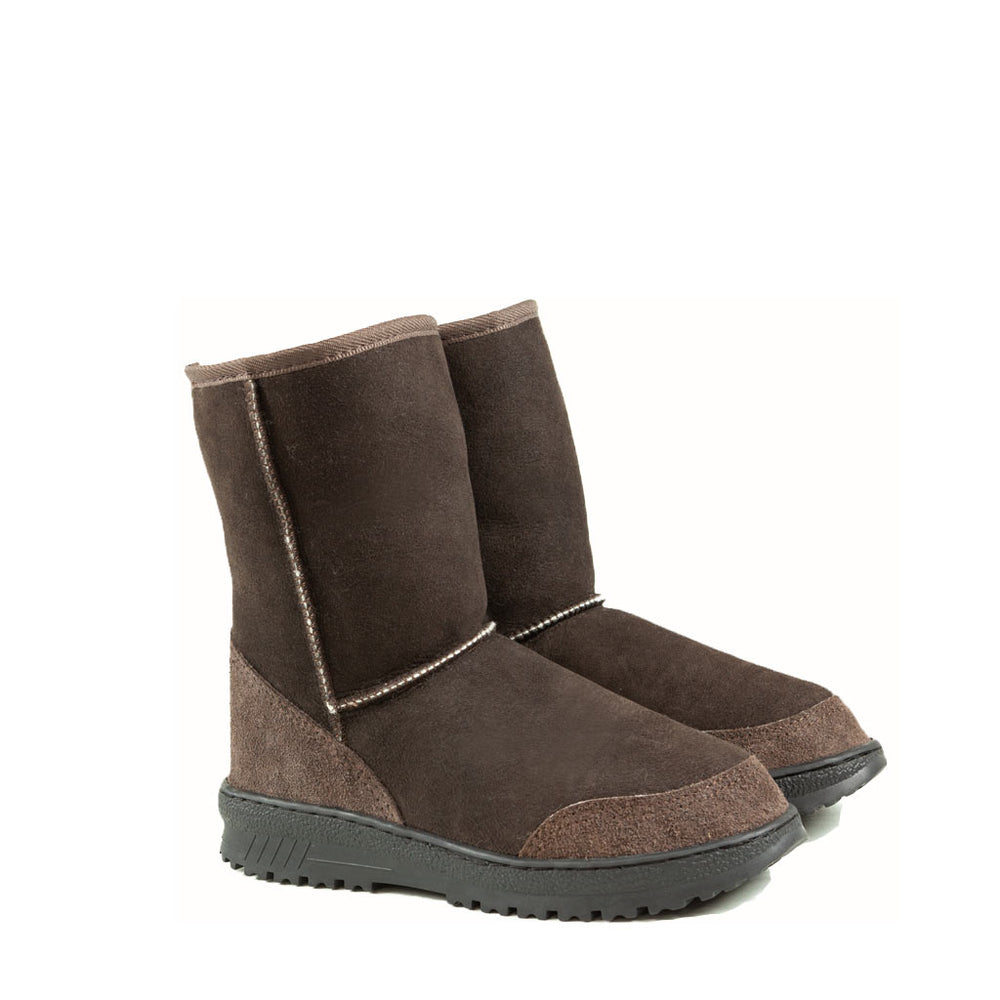 WANDER MID MOCHA PAIR - PURE OZ AUSTRALIAN MADE SHEEPSKIN UGG BOOT