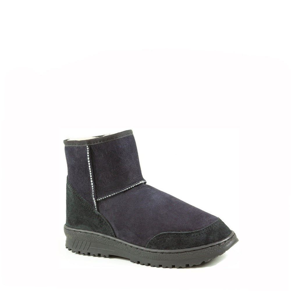 WANDER MINI BLACK - PURE OZ AUSTRALIAN MADE SHEEPSKIN UGG BOOT