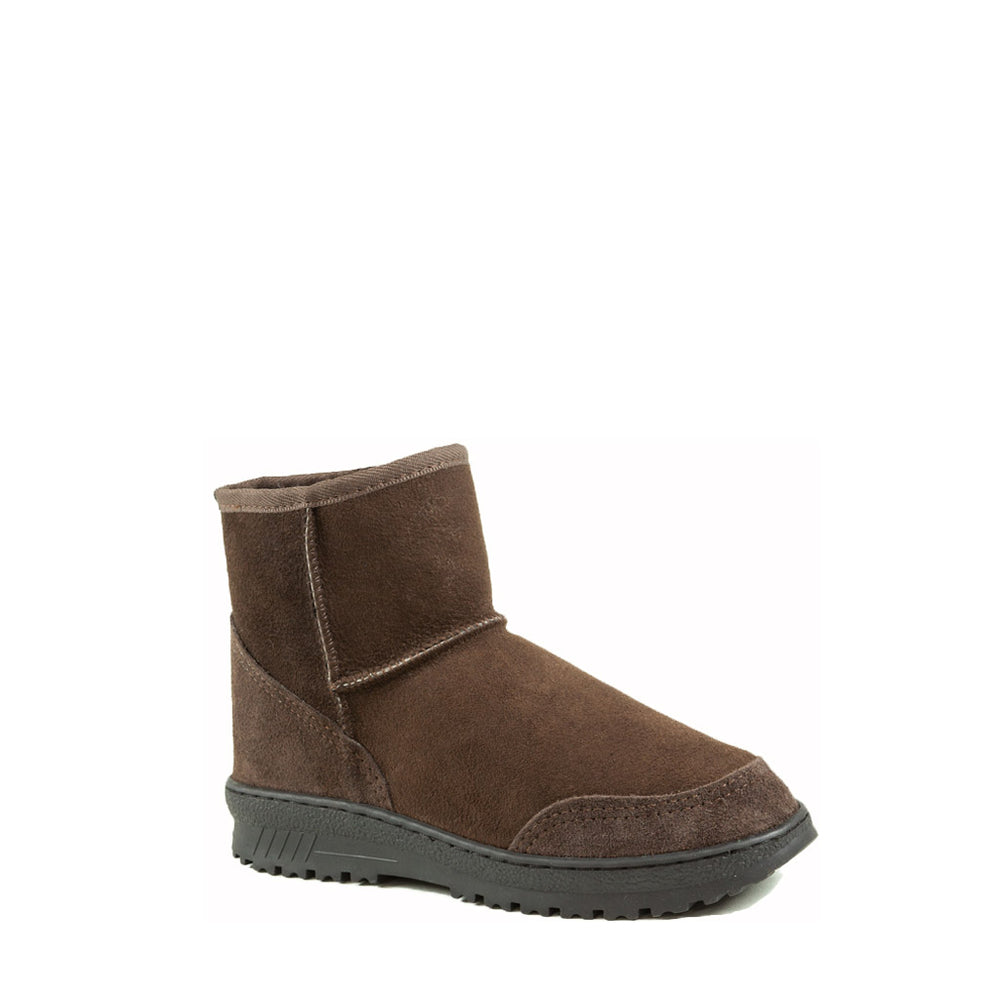 Load image into Gallery viewer, WANDER MINI MOCHA MENS - PURE OZ AUSTRALIAN MADE SHEEPSKIN UGG BOOT