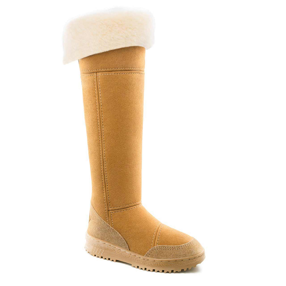 Venus Rise Caramel - PURE OZ AUSTRALIAN MADE SHEEPSKIN UGG BOOT