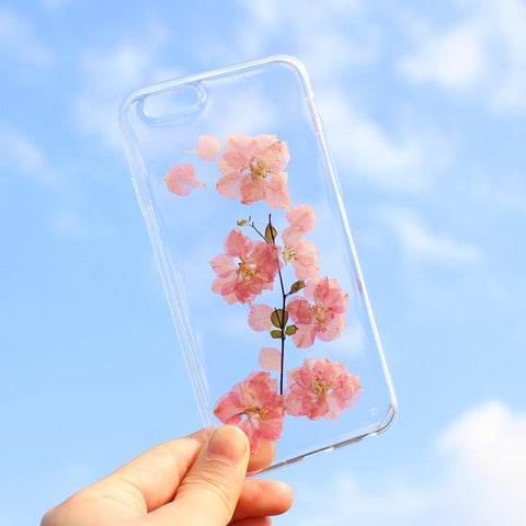 BlingQueenAu Cherry Blossoms Iphone Case TPU Case Cover For Iphone8/8plus/X,iphone7/7plus/8/8 plus, Iphone XR Case