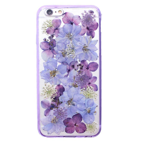 BlingQueenAu Handmade Dried Flower Iphone Case/ Real Dried Flower Case/ Iphone XR/X/XS/XS Max/8/7/6 Case