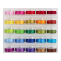 Super Bobs Cotton Thread 25 colors - Bright