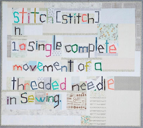 Definition of Stitch Pattern (Printed)