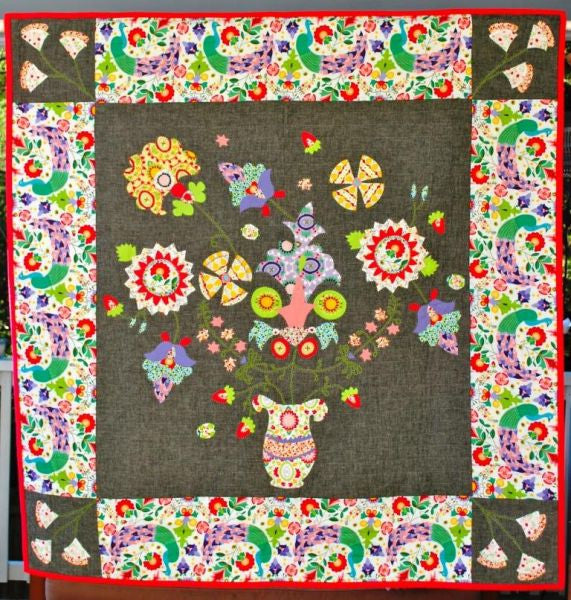 Enchanted Blossoms Quilt Pattern (Printed)