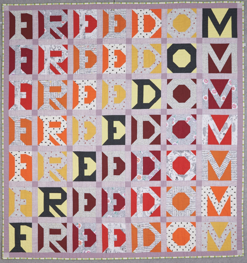 Freedom Quilt Pattern (PDF) – sarahfielke : the freedom quilt - Adamdwight.com