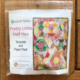 Pretty Little Half Hex Quilt template