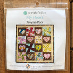 My Heart Quilt - Book Template Bag Kit