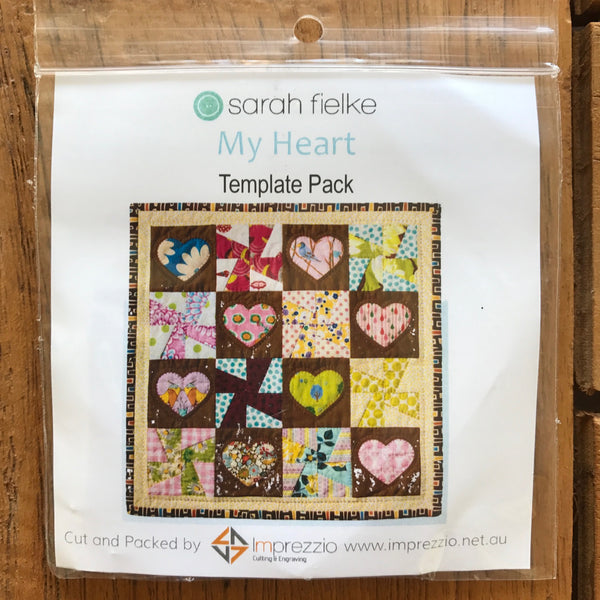 My Heart Quilt template
