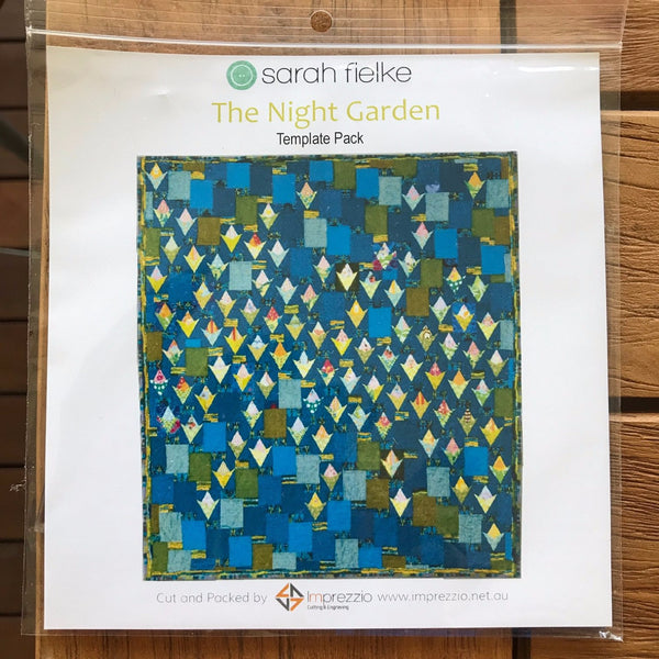 Night Garden Quilt - Book Template Bag Kit