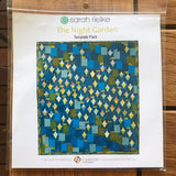 Night Garden Quilt template