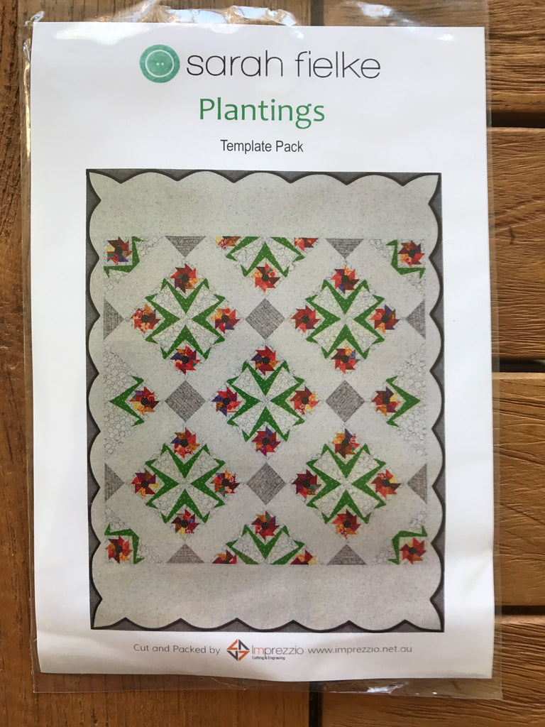 Plantings Quilt template