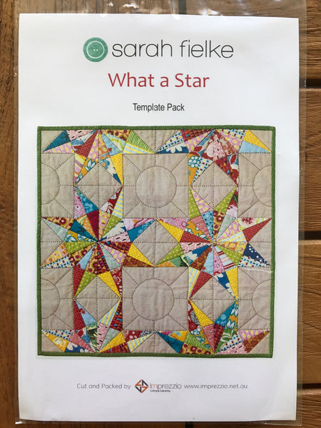 What a Star Quilt template