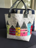 Little City Project Tote Bag Pattern PDF and Video