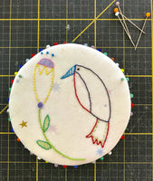 Birdie Pin Wheel Pattern PDF and Video