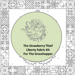 The Grasshopper Liberty Fabric Kit from The Strawberry Thief