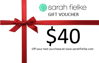 Sarah Fielke shop 40dollar Gift Voucher