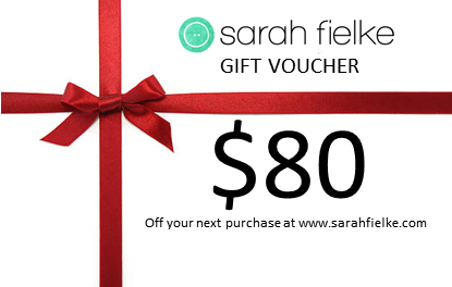 Sarah Fielke shop 80dollar Gift Voucher