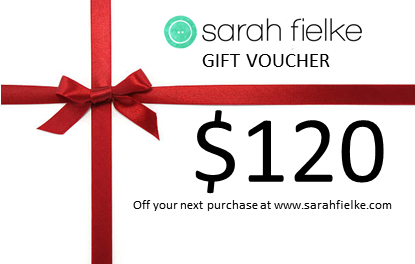 Sarah Fielke shop 120dollar Gift Voucher
