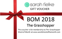 BOM2018 The Grasshopper Gift Voucher