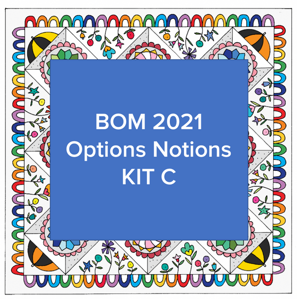 Rain Days and Sun Rays BOM 2021 Optional Notion Kit C