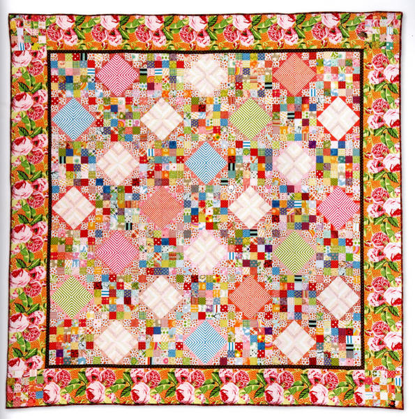 Coming Up Roses Quilt Pattern (PDF)