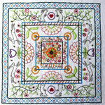Down the Rabbit Hole Embroidery Panel Kit - Multicolor