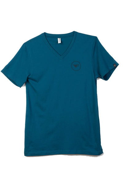 Men's - Classic V-Neck - Dark Teal